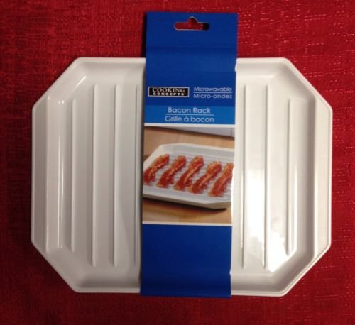 The Pecan Man Microwave Bacon Tray & Food Defroster