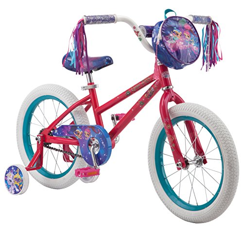 81221bc239a9 Nickelodeon Shimmer & Shine Girl's Bicycle with Training Wheels ...