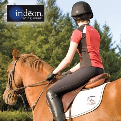 (Irideon Kids Issential Riding Tights - Color:Black Size:XLarge)