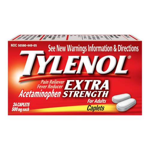 Amazon.com: Tylenol- PM, Extra Strength Caplets, 24 Count: Health &  Personal Care