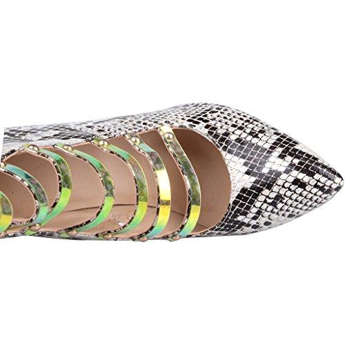 Naiset Calot Seksikäs 12cm Tikari Korkealaatuisia Muotisuunnittelija Kengät Vetoketju Calaier Avokkaat Teräväkärkiset RaqxfZdfw