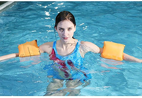 Topsung Floaties Inflatable Swim Arm Bands Rings Floats