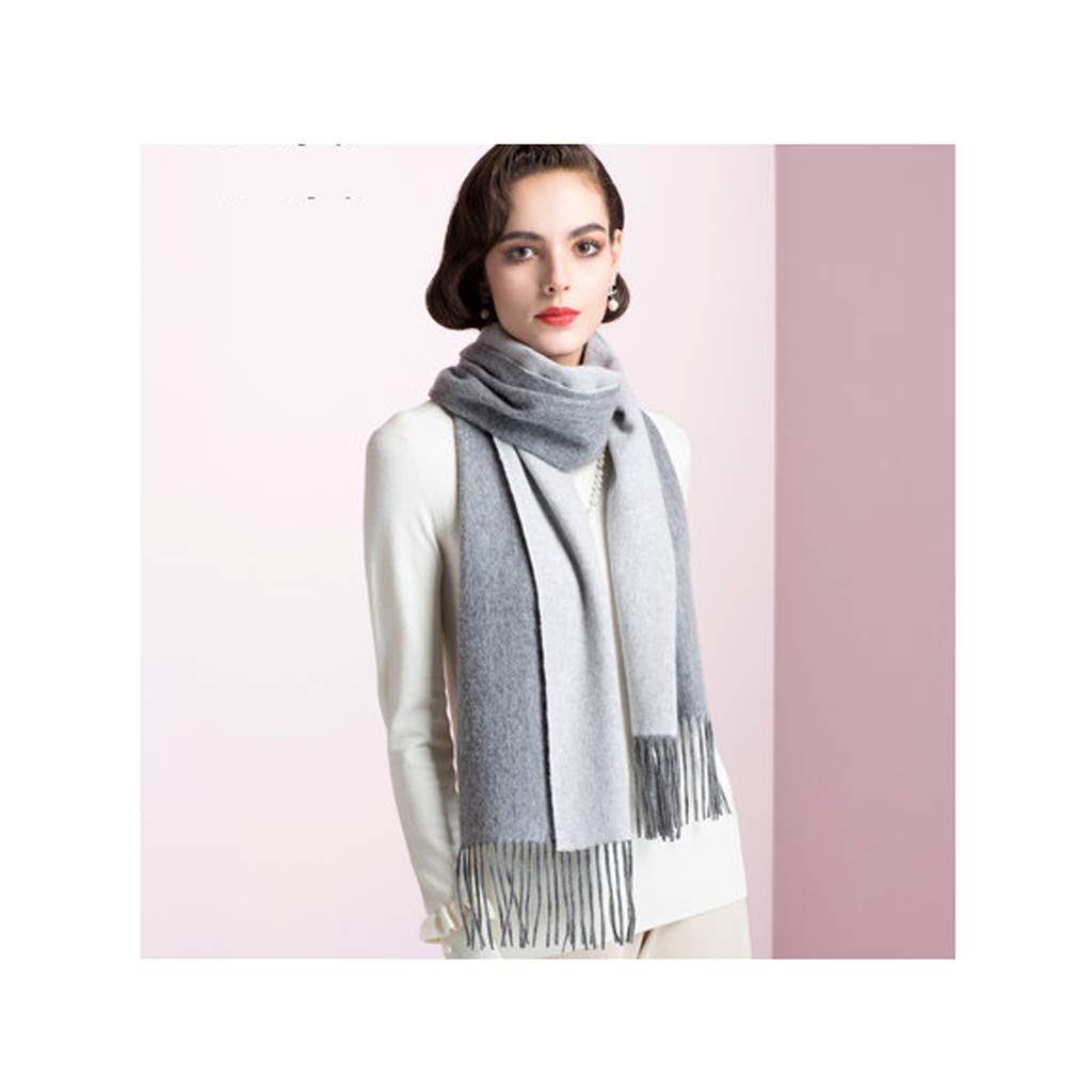 ENYI Scarf Ms Autumn and Winter Soft Keep Warm Long Section Shawl 190 X 60CM (Color : B, Size : 190×60CM) by ENYI