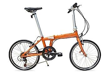 Allen Deportes Aluminio 7 Velocidad Bicicleta Plegable, Sedona, 30 cm/un tamaño