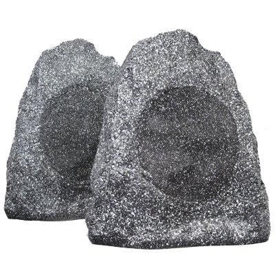"""UPC 813282014708, New 6.5"""" Woofers Outdoor Garden Waterproof Granite Rock Patio Speaker Pair 2R65G"""