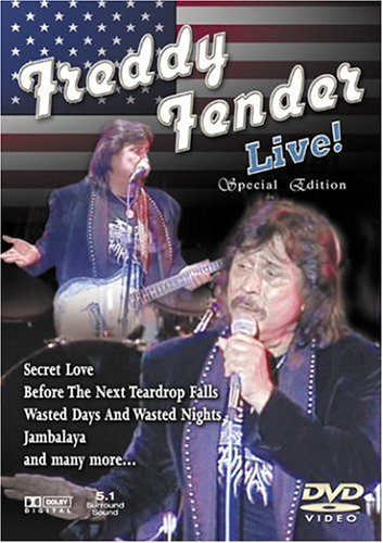 Freddy Fender Live! by St Clair Vision