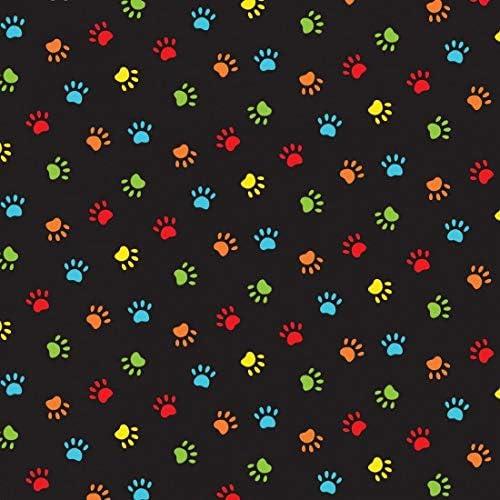 Nutex - Tela para patas de perro (100% algodón), color negro: Amazon.es: Hogar