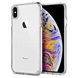 Spigen [Ultra Hybrid] iPhone Xs Max Case Cover with Air Cushion Technology and Shock Absorption Edge Designed for iPhone Xs Max (2018) - Crystal Clear