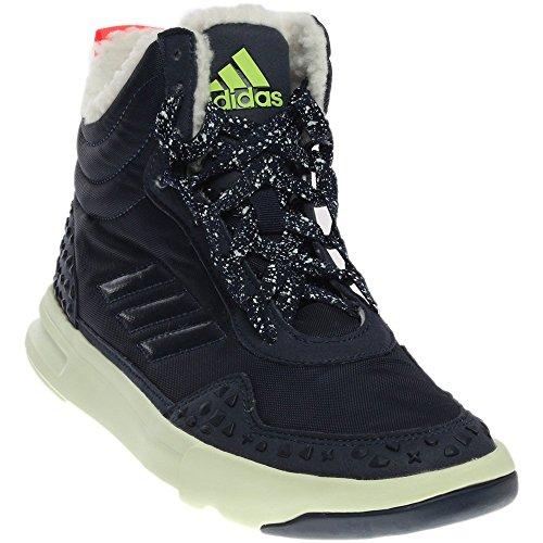 adidas Women's Irana Cross-Trainer Shoe, Night Indigo/White Vapor/Flash Red, 7.5 M US