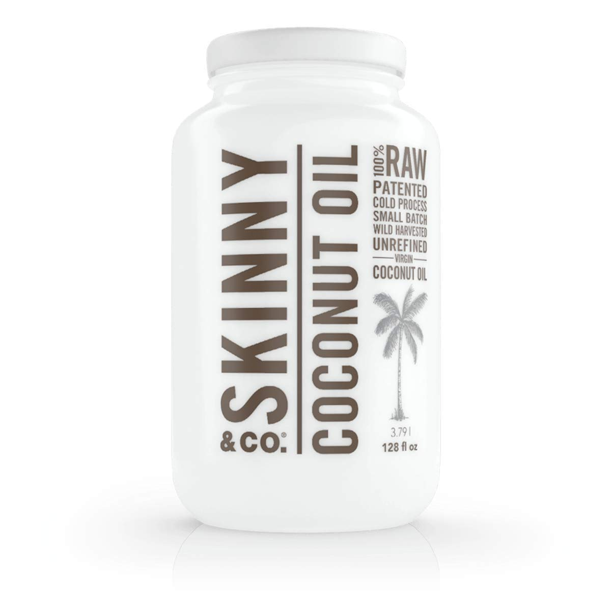 Amazon.com: Skinny & Co. Aceite de Coco Virgen Extra Skinny ...