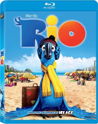 Rio Blu-ray Triple Play w/ Family Icons Oring