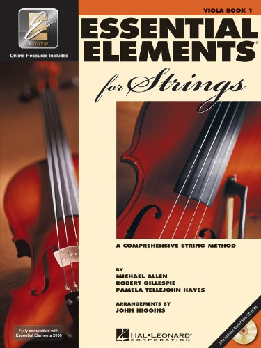Essential Elements 2000 for Strings: Violin - Book 1 CD/DVD (Essential 2000 Violin)