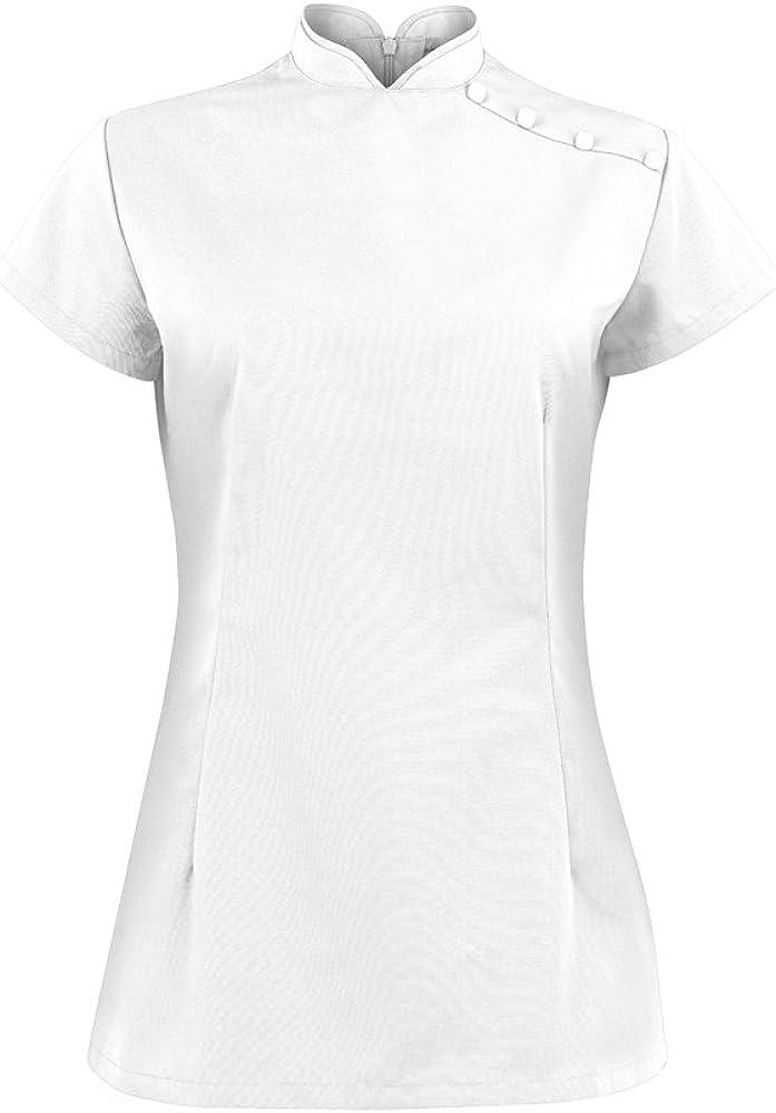 Alexandra Workwear Womens Stand Collar Beauty Tunic