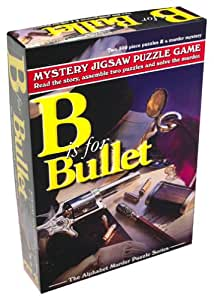 MYSTERY JIGSAW PUZZLE GAME (B IS FOR BULLET)