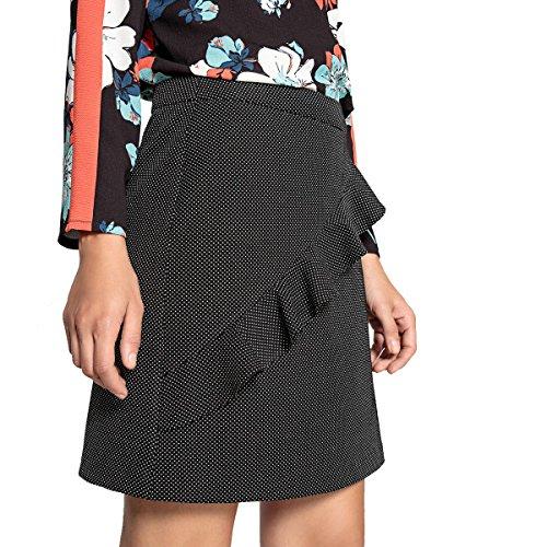 La Redoute Womens Ruffled Skirt Black Size US 6 ()