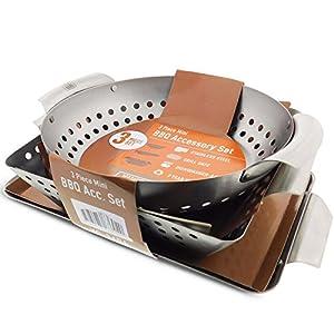 Yukon Glory set of 3 Grill Baskets