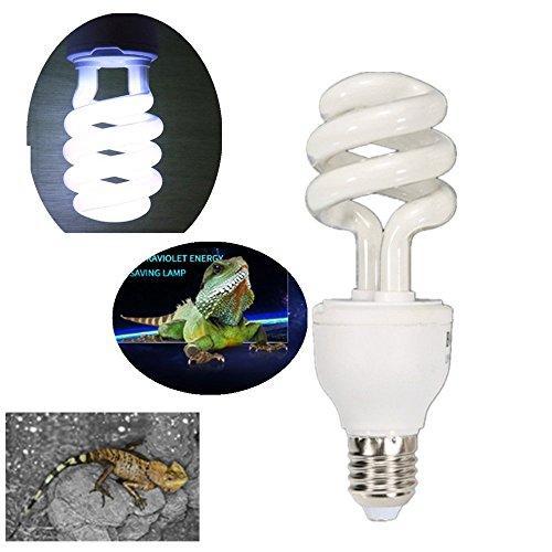 sxbest 1 Pack Sunblast 10.0 UV Reptile Compact Fluorescent Desert Bulb Terrarium Lamp (13 (Repti Glo 5.0 Compact)