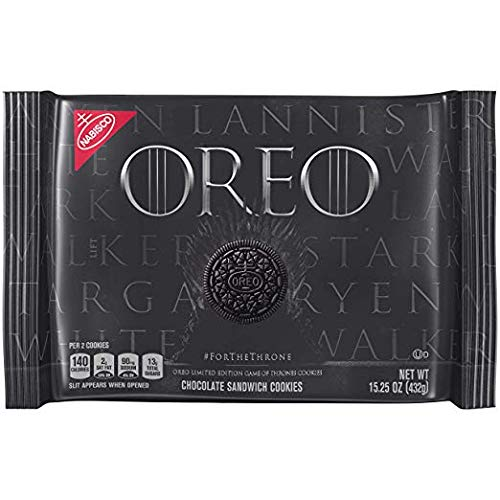 OREO Limited Edition Game of Thrones Themed Classic Chocolate Sandwich Cookies, 15.25 oz. - 3 pack by Oreo (Image #2)