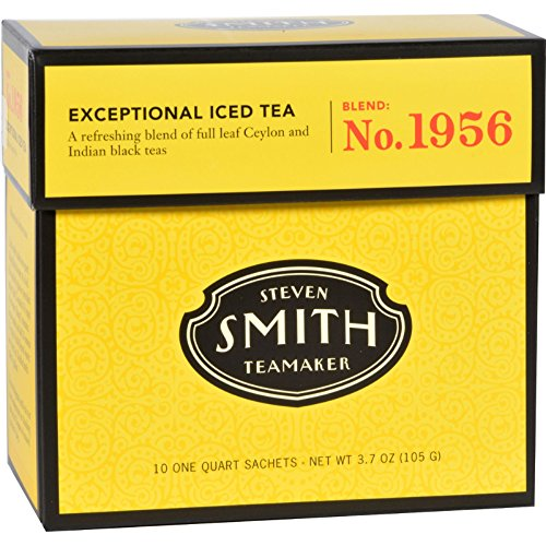 Smith Teamaker Iced Tea Fez Case Of 6 10 Bags, 10 Count by Smith Teamaker