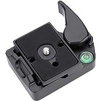 Nunafey Zacisk szybkozamykający ze stopu aluminium, zacisk kamery, obrotowy uchwyt, mocne narzędzie DSLR do narzędzi PL…
