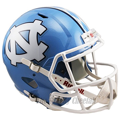 North Carolina Tar Heels Officially Licensed NCAA Speed Full Size Replica Football Helmet by Riddell