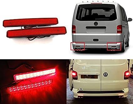 Réflecteur Pare-Chocs Réflecteur Arrière Gauche Hayon Pour VW Multivan VI T6