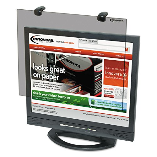 Innovera 46402 Protective Anti-Glare LCD Monitor Filter for 17 to 18 Inches LCD Monitors (IVR46402)