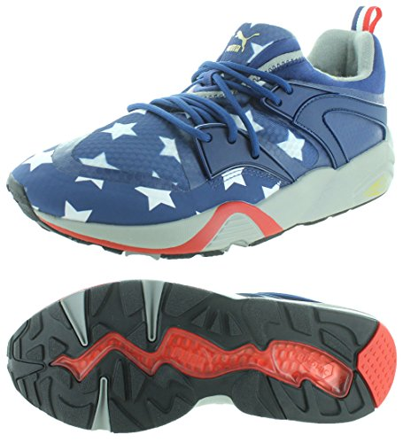 Puma Blaze of Glory Mens American Flag Sneakers Shoes Red-white-blue OL6cWu