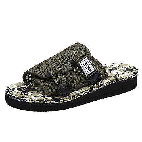 adeef939819a chic Men Casual Sandals Leisure Soft Slides Eva Massage Beach Slippers  Water Shoes Men s Sandals Flip