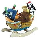 Rockabye Ahoy Doggie Pirate Ship Rocker