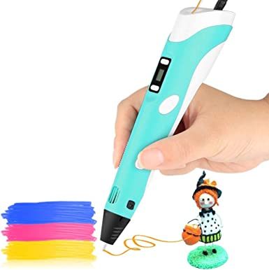 Perfect Art Craft Activity Toy Gift for Children DIY Educational Stem Toy for Boys /& Girls Age 6 /& Up Advanced 3D Printing Pen Set for Kids with Free Refill Filament and USB Charging Port
