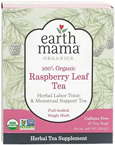 Earth Mama Raspberry Menstrual 16 Count product image