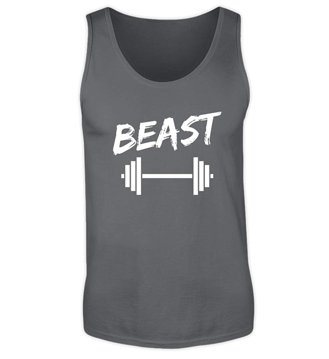 Baby Body Vater und Sohn Bodybuilding Partnerlook Beast in Training mit Hantel Fitness Gym