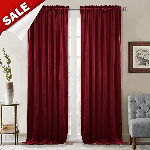 StangH Thick Velvet Curtains 96-...