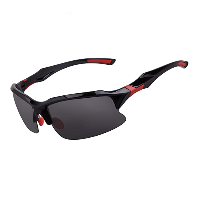ae597035412 Image Unavailable. Image not available for. Color  Goonk Polarized Sports  Sunglasses Lightest Comfortable for Running Driving Baseball Cycling Men  Women ...