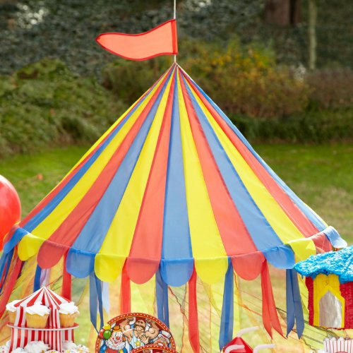 Big Top Canopy Tent Party Accessory : circus tent decorations - memphite.com