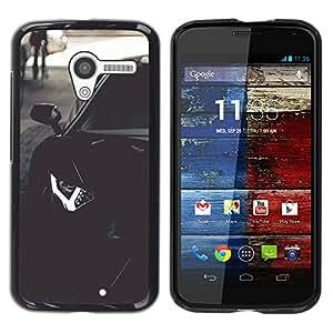 CASEMAX Slim Hard Case Cover Armor Shell FOR Motorola Moto X 1 1st GEN I - LAMBO AVENTADOR