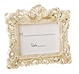 Vintage Style Baroque Design Placecard Holder or Picture Frame by Fashioncraft