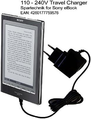 Spartechnik - Cargador de viaje para Sony eBook Reader PRS-505 ...