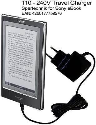 Spartechnik - Cargador de viaje para Sony eBook Reader PRS ...