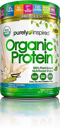 Purely Inspired Organic Protein Shake, 100% Plant Based Prot