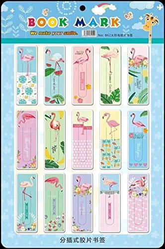 Cute Hello Kitty Flamingo Unicorn Paper Bookmark Promotional Gift Stationery Film Bookmark (03 Random Design) for $<!--$13.99-->