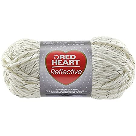 Coats Yarn Red Heart Reflective Yarn Aran Other Multicoloured By