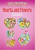 img - for Glitter Hearts and Flowers Stickers (Dover Stickers) book / textbook / text book