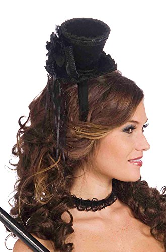 Mini Victorian Top Hat Headband ()