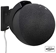 All New, Made For Amazon Wall Mount, Black, Echo (4th generation)