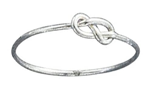 Amazon Sterling Silver Infinity Symbol Knot Wire Ring Stering
