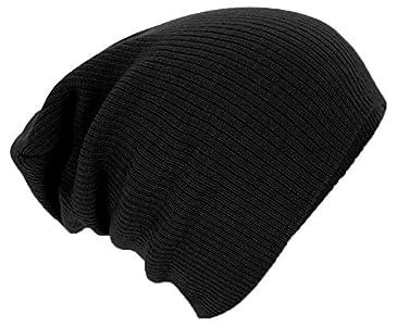 dd71e00dc08 Beechfield Slouch Beanie - Woolly hat for big heads