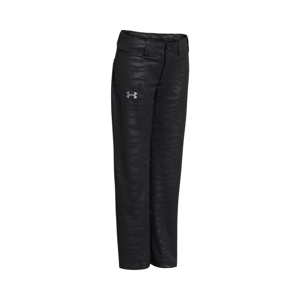 Under Armour Boys ' UAクリーンアップ野球パンツ B019KQAS4W Youth X-Large|Black/ Steel Black/ Steel Youth X-Large