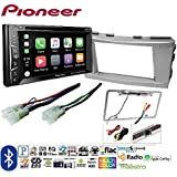 Pioneer AVH-1400NEX Double DIN Apple CarPlay In-Dash w/Touchscreen TOYOTA CAMRY 2007 2008 2009 2010 2011 CAR STEREO RADIO CD PLAYER RECEIVER INSTALL MOUNTING KIT WIRE HARNESS